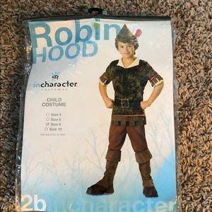 Robin Hood size 8 costume